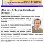 Artículo publicado en Lawyerpress. Alfredo Cortés especialista en marketing yc comunicación jurídica, despachos de abogados. Marketing y comunicación