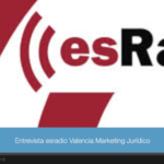 Entrevista en Esradio sobre marketing y comunicación. Especialista creación de marcas.
